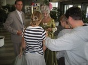 Fotografie z akceNatáčení seriálu s Evou Holubovou
