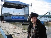 Fotografie z akcePlovoucí pódium na Máchovo jezeře